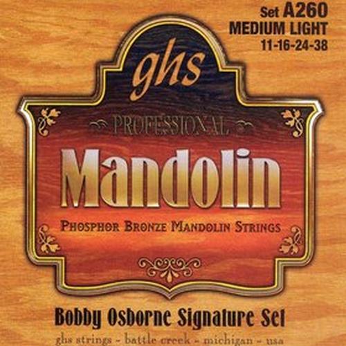 Ghs A260 Set, Mandolin,osborne,ph Br Struny