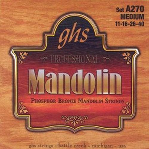 Ghs A270 Set Mandolin, Phos Brnz, Me Struny