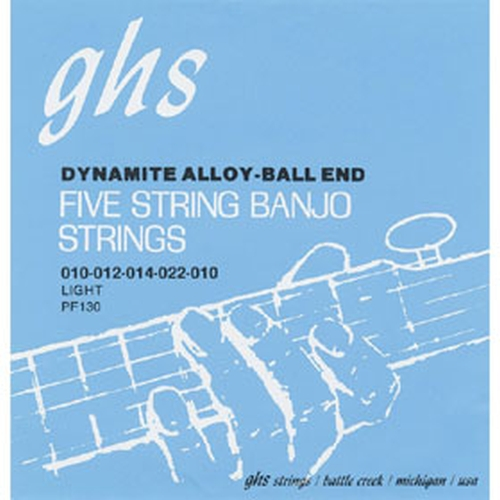 Ghs PF130 Set 5-str. Banj. Bali End Struny