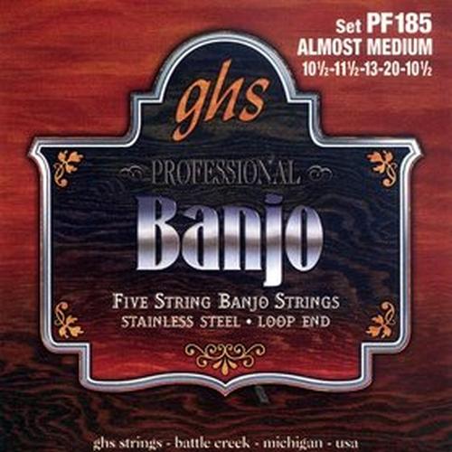 Ghs PF185 Set 5-str. Banj. Almost Me Struny