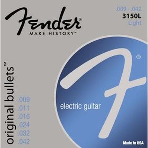 Fender 073-3150-403 3150l Gauges .009-.042