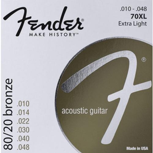 Fender 073-0070-402 70xl .010-.048 Gauges