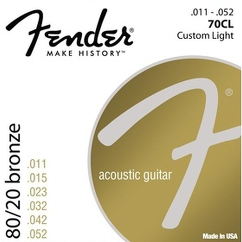 Fender 073-0070-405 70cl .011-.052 Gauges