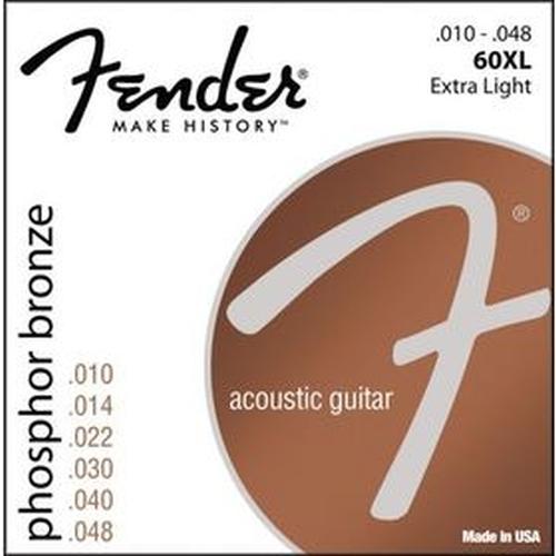 Fender 073-0060-402 60xl .010-.048 Gauges