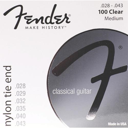 Fender 073-0100-400 Nylon, Tie End,gauges.028-.