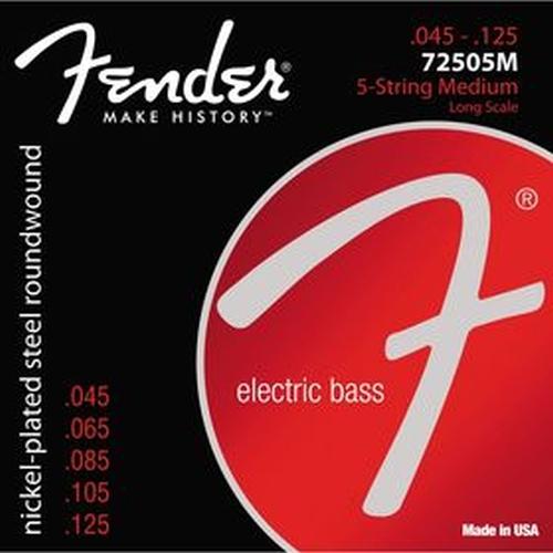 Fender 073-7250-456 7250-5m Gauges.045-.125,set