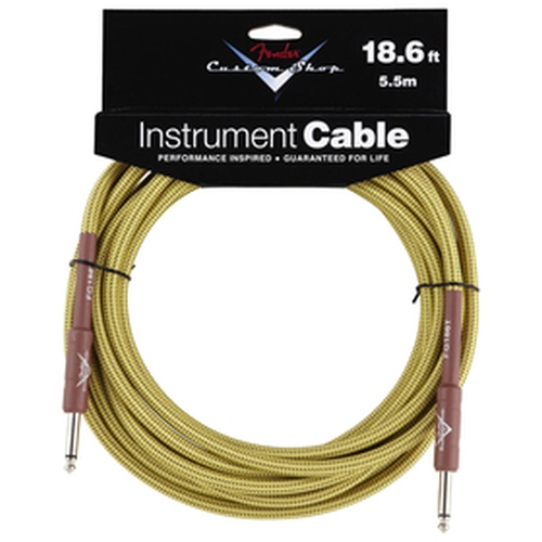 Fender Custom Shop Performance Series Cable 18.6' Tweed