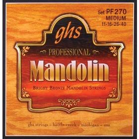 Ghs PF270 Set, Mandolin Br, Br, Med, Struny