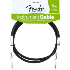 Fender 099-0820-004 Instrument Cable,5',black