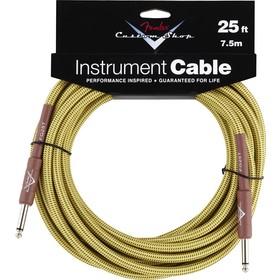 FENDER Custom Shop Performance Series Cable, 25', Tweed