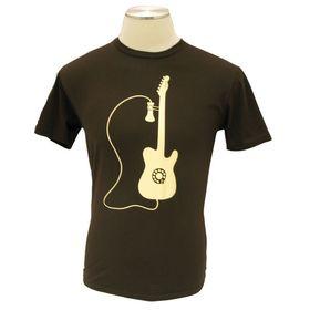 919-0015-844 Fender Phone Tee, Choc, Xx